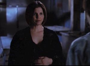 Charisma Carpenter, Angel, Real Pregnancy