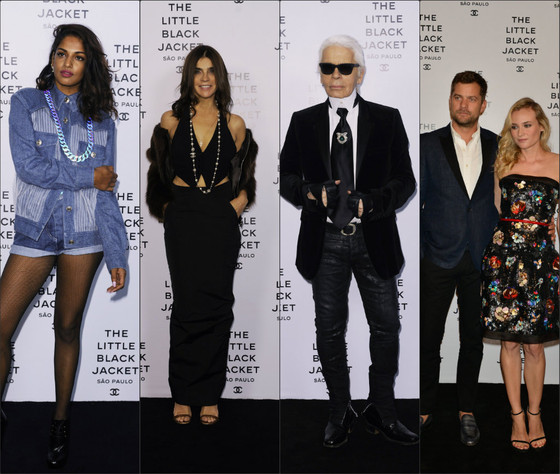 Chanel Party in Sao Paulo to open The Little Black Jacket