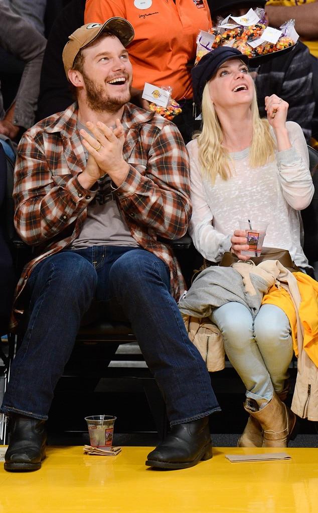 Chris Pratt, Anna Faris
