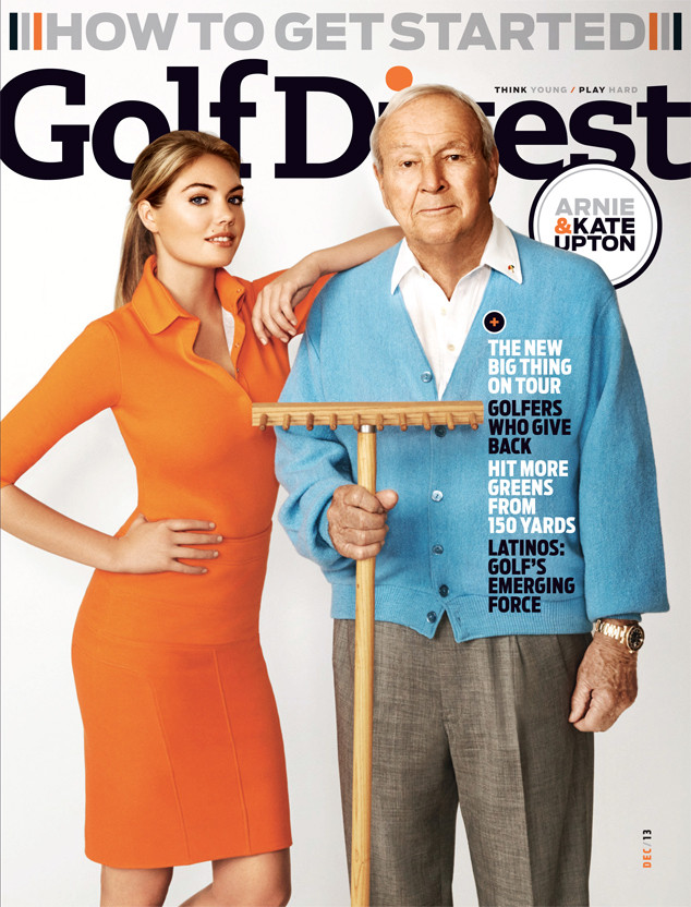 Kate Upton, Arnold Palmer, Golf Digest