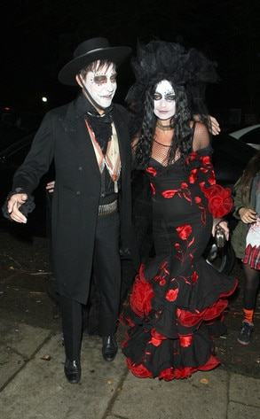 Kate Moss, Jamie Hince, Halloween