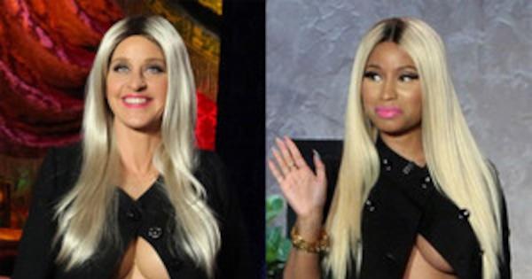 Bitch Stole My Look Ellen Degeneres Vs Nicki Minaj E News