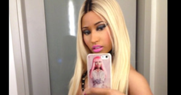 Nicki Minaj Wears Nipple Pasties, Fishnet Tights and a ...Nicki Minaj Pasties Halloween