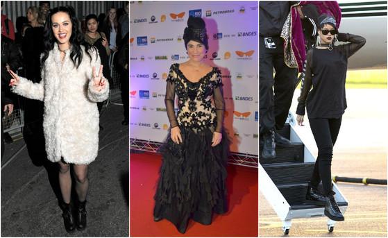 Katy Perry, Rihanna, Regina Duarte