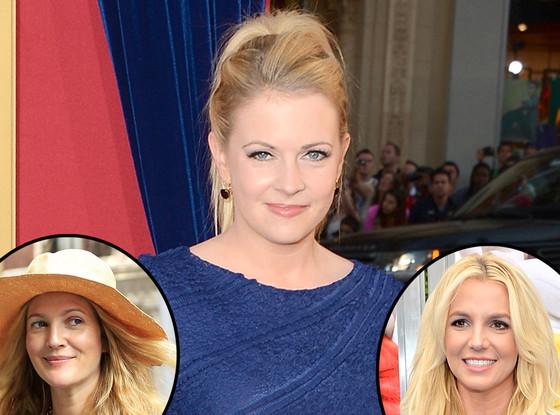 Melissa Joan Hart, Drew Barrymore, Britney Spears