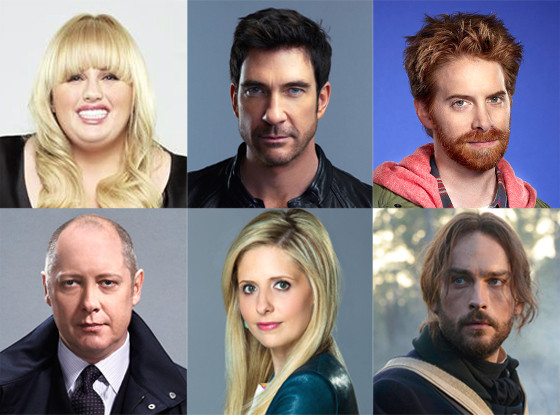 Sarah Michelle Gellar, Rebel Wilson, Dylan McDermott, Tom Mison, James Spader, Seth Green