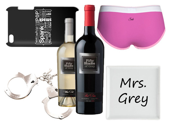 Fifty Shades of Grey, Gifts