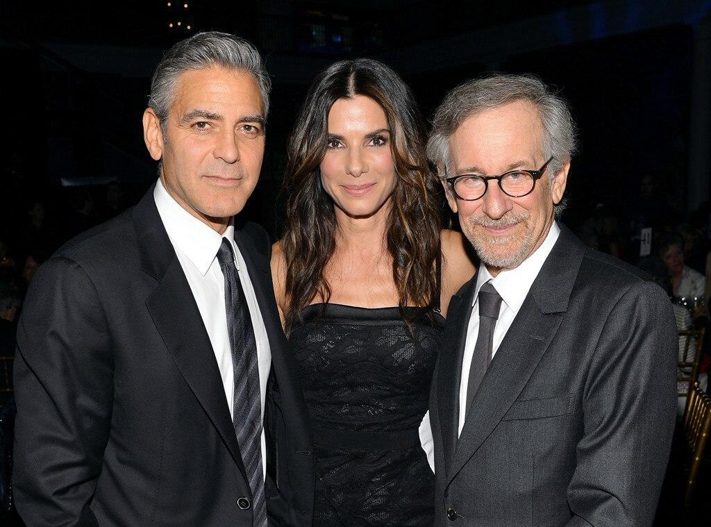 George Clooney, Sandra Bullock, Steven Spielberg