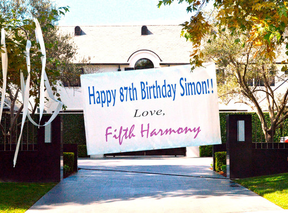 Simon Cowell, Fifth Harmony, Home