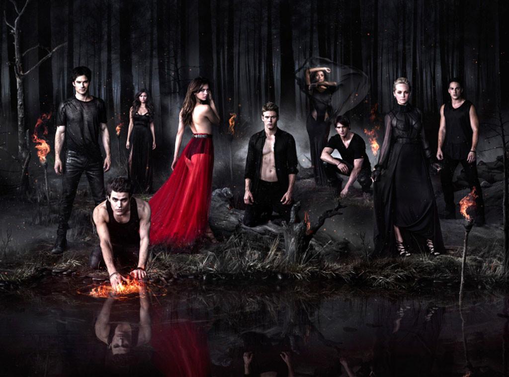 The Vampire Diaries Cast