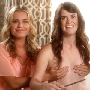 Rebecca romijn breasts remarkable, rather