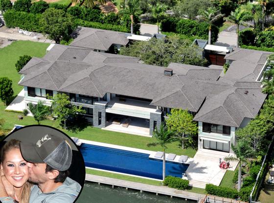 Enrique Iglesias, Anna Kournikova, Miami Home