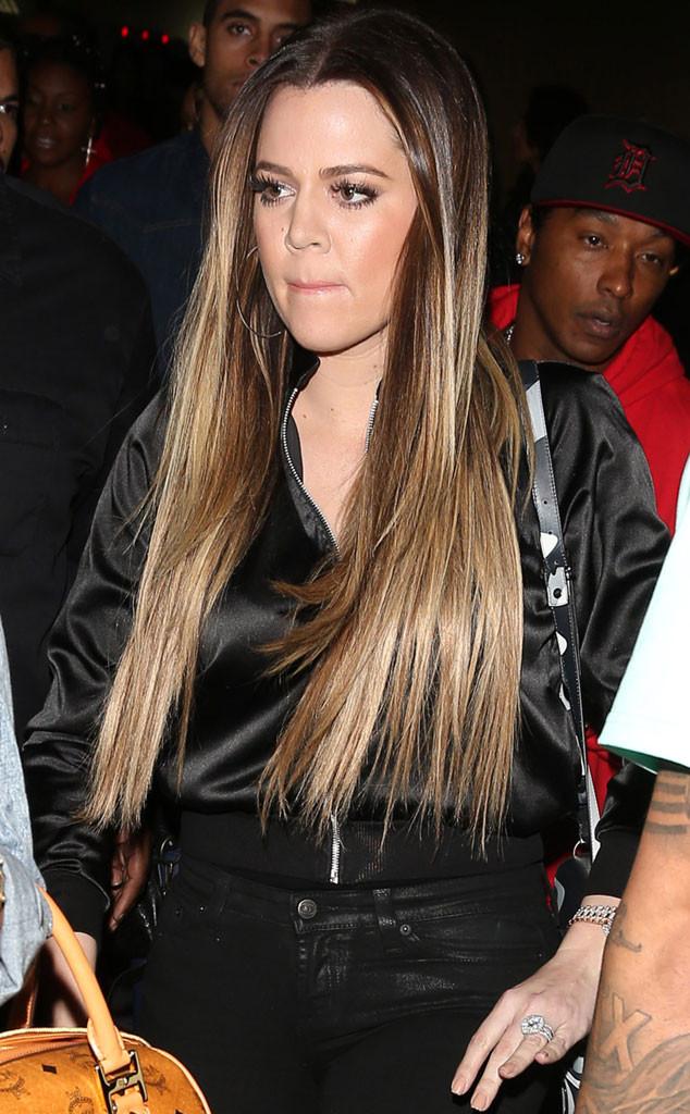 Khlo U00e9 Kardashian Odom Tr U00e4gt Bei Club Event Ehering E News
