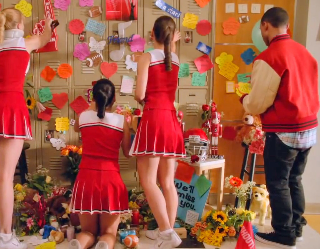 Outpouring of Locker Love from Glee's Cory Monteith Tribute