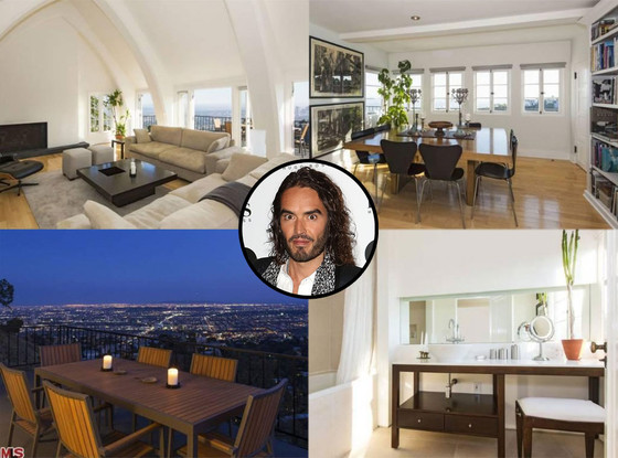 Russell Brand, Hollywood Home