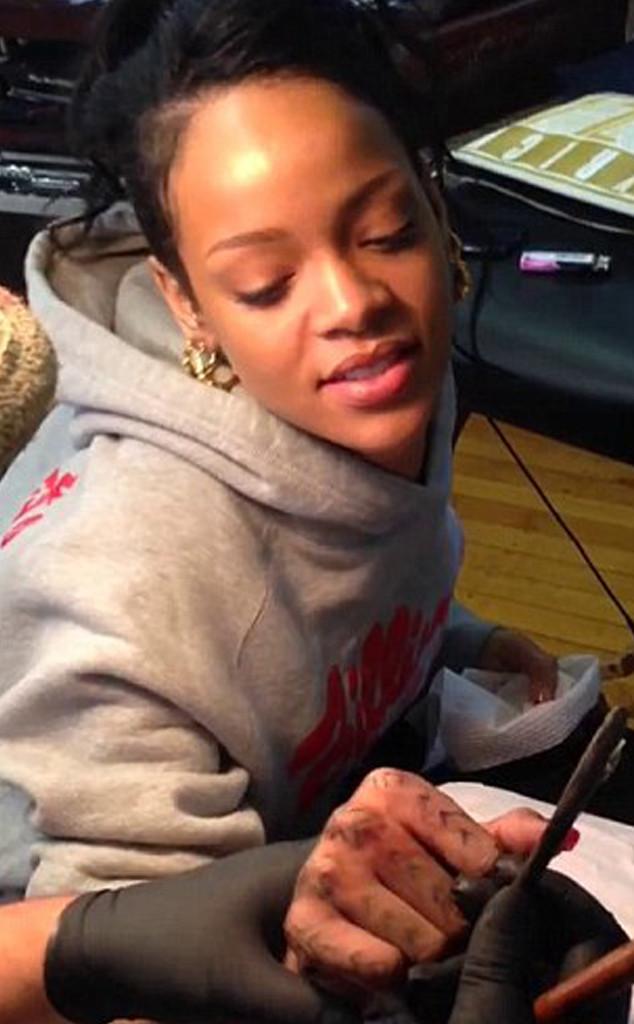 Rihanna, Tribal Tattoo