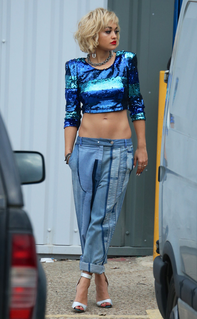 Rita Ora Shows Off Killer Abs, Makeup in Sneak Peek at Her Rimmel London Campaign—See the Pics!