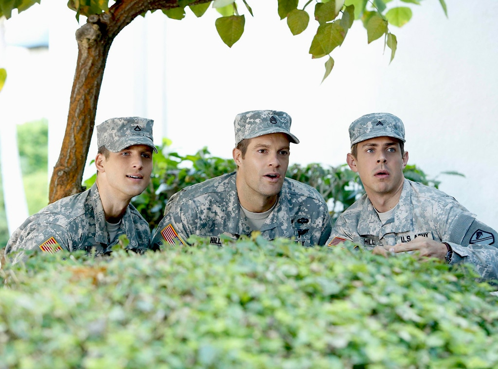 Parker Young, Geoff Stults, Chris Lowell, Enlisted