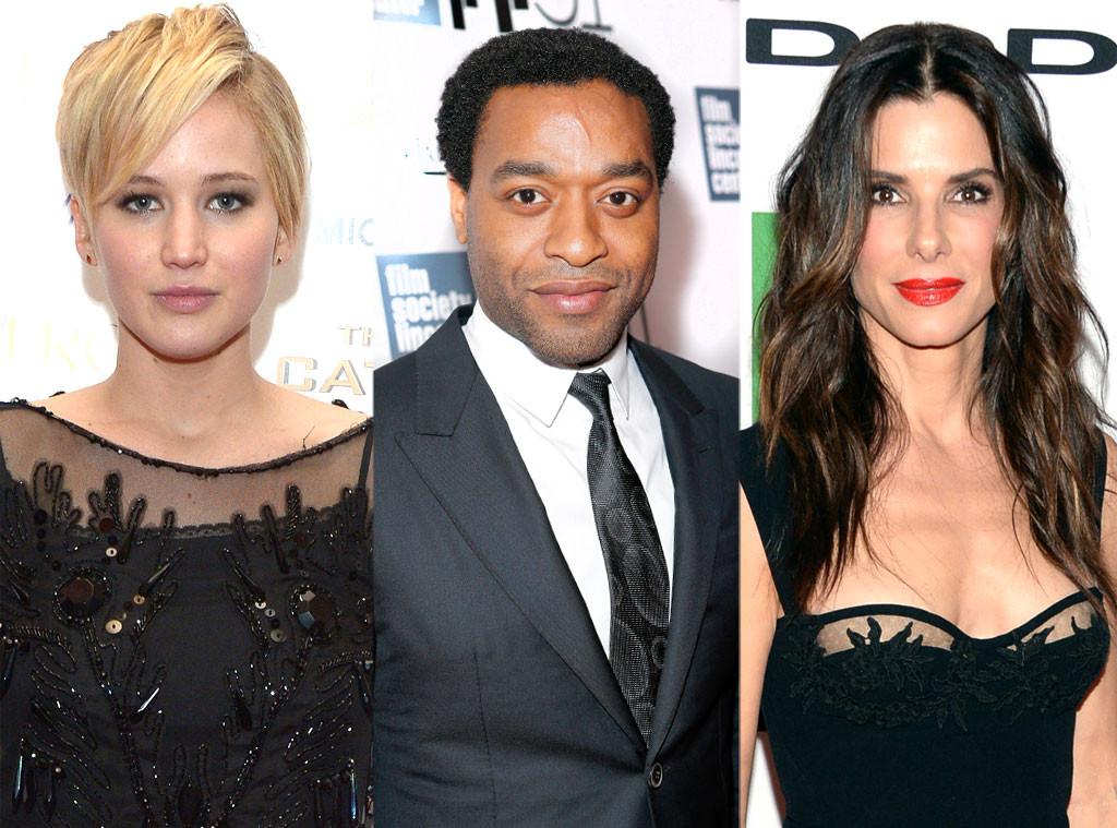 Jennifer Lawrence, Chiwetel Ejiofor, Sandra Bullock