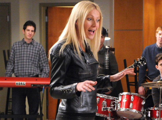 Gwyneth Paltrow, Glee, Onscreen Teacher