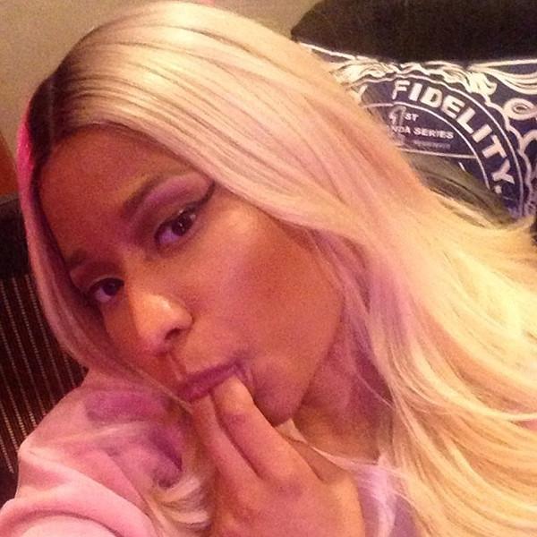 Nicki Minaj, Instagram