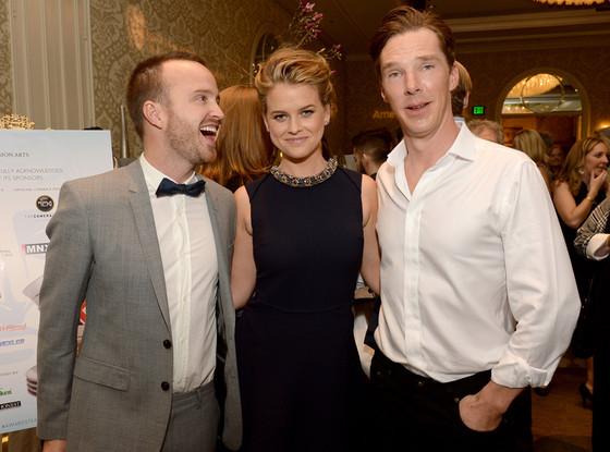 Aaron Paul, Alice Eve, Benedict Cumberbatch, BAFTA