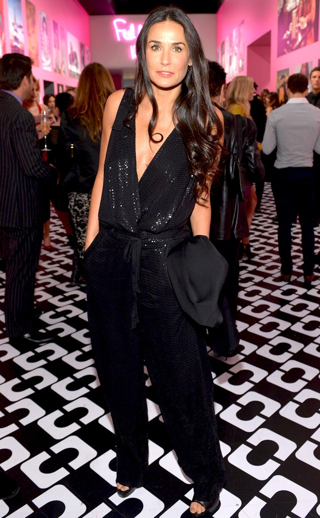 Demi Moore, DVF Journey of a Dress