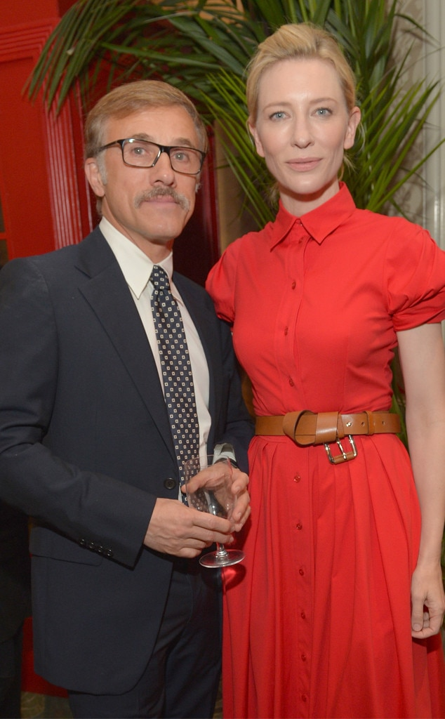 Christoph Waltz, Cate Blanchett, BAFTA