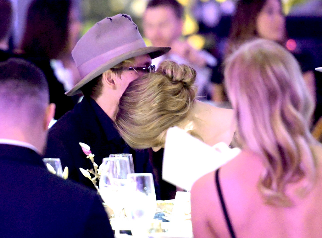 Johnny Depp, Amber Heard. Perrier-Jouët, The Art Of Elysium's 7th Annual HEAVEN Gala