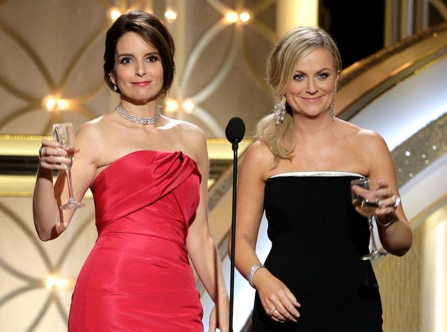 Tina Fey, Amy Poehler, 2014 Golden Globe Awards