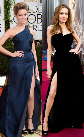 Amber Heard, Angelina Jolie