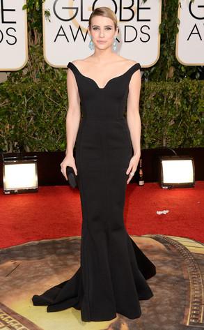Emma Roberts, Golden Globes