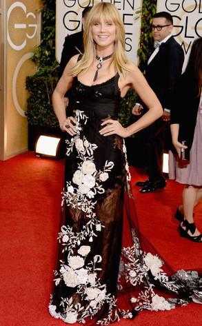 Heidi Klum, Golden Globes 2014