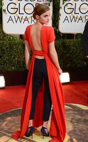Emma Watson, Golden Globes 2014