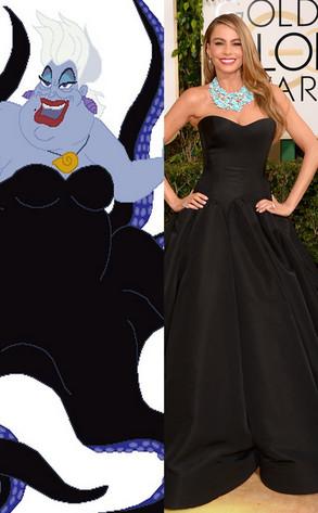 Sofia Vergara, Ursula, Golden Globes 2014