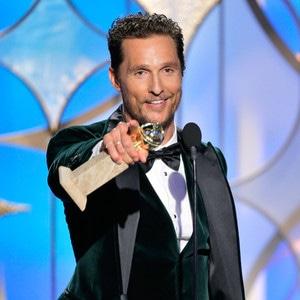 Matthew McConaughey, Golden Globes 2014, Winner