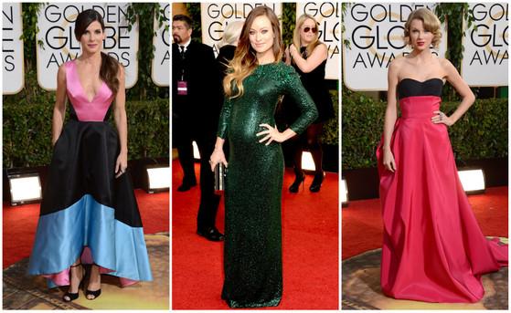 Melhores looks Globo de Ouro 2014