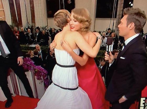 Jennifer Lawrence, Taylor Swift, Ryan Seacrest