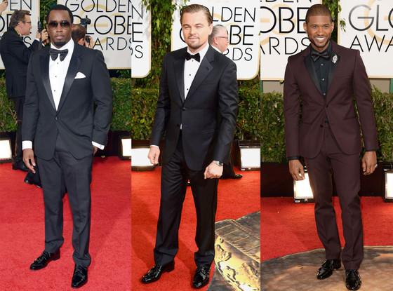Best Dressed Men at the Golden Globes 2014: Leonardo DiCaprio, Usher, Matthew McConaughey and More