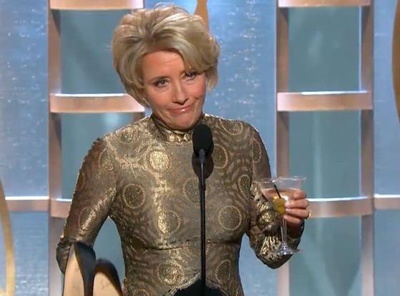 Emma Thompson, Golden Globe Awards Show