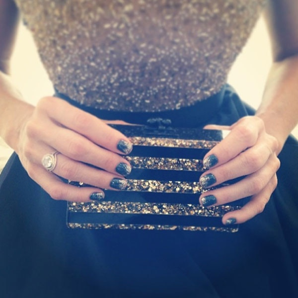 Monica Potter, Nail Art, Golden Globes 2014