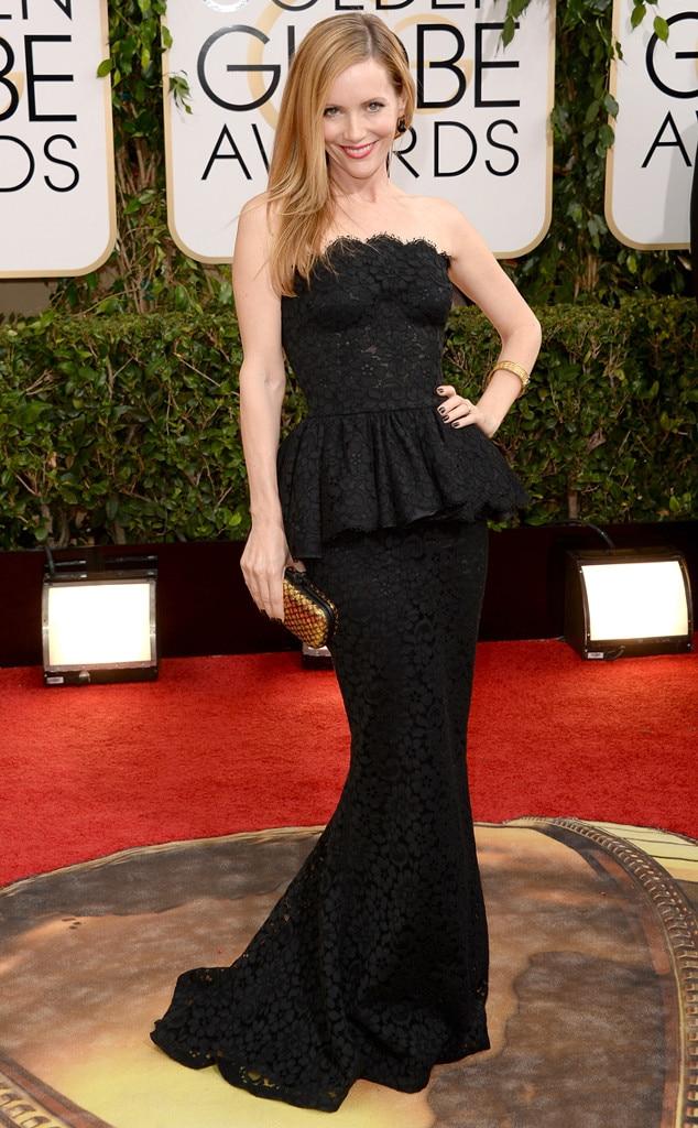 Leslie Mann, Golden Globes, 2014