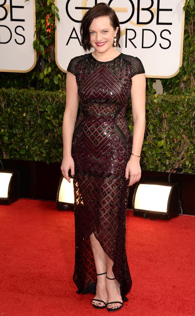 Elisabeth Moss, Golden Globes