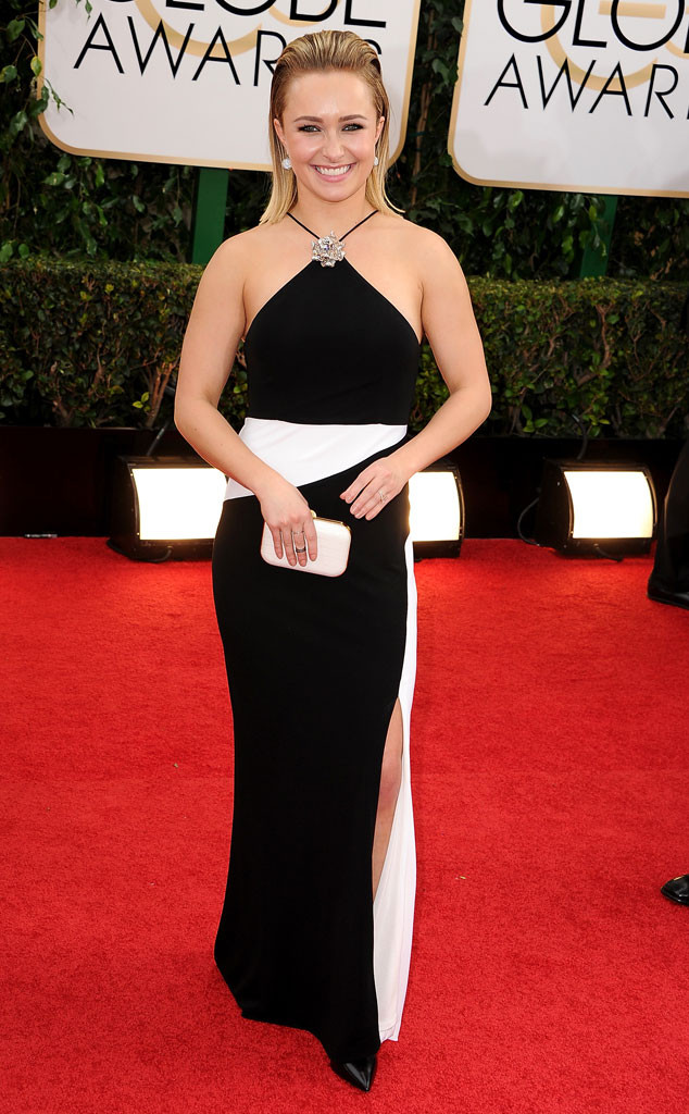 Hayden Panettiere Actually Bought Her Golden Globes Dress, Impressed ...