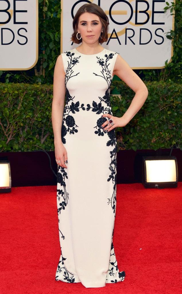 Zosia Mamet, Golden Globes, Head shot