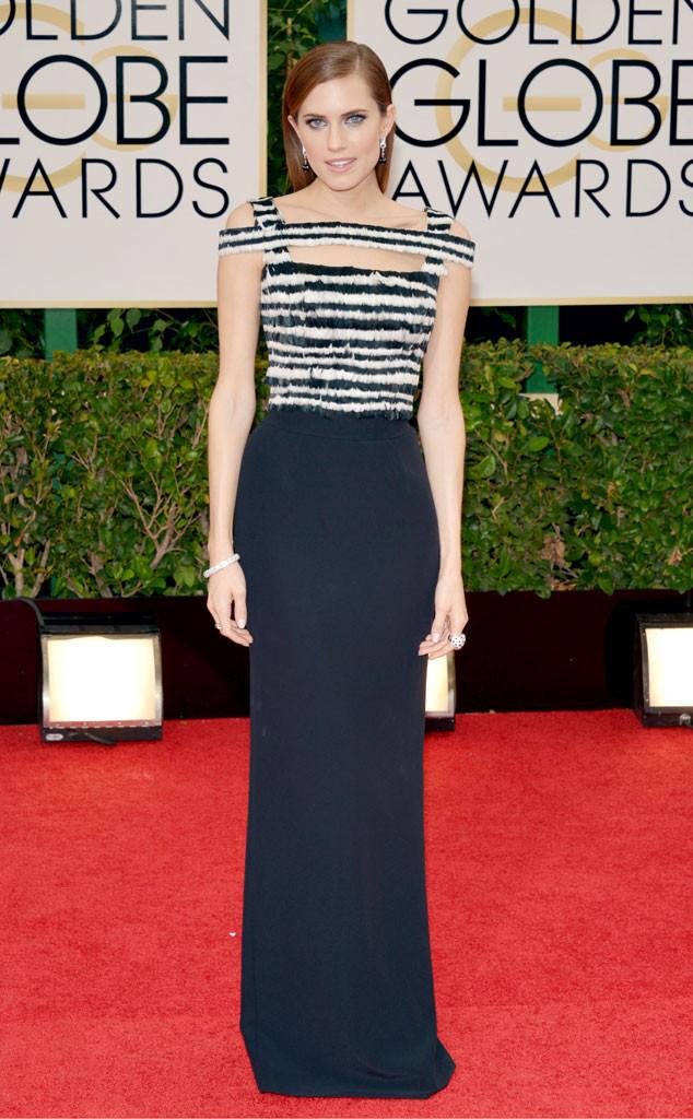 Allison Williams, Golden Globes 2014