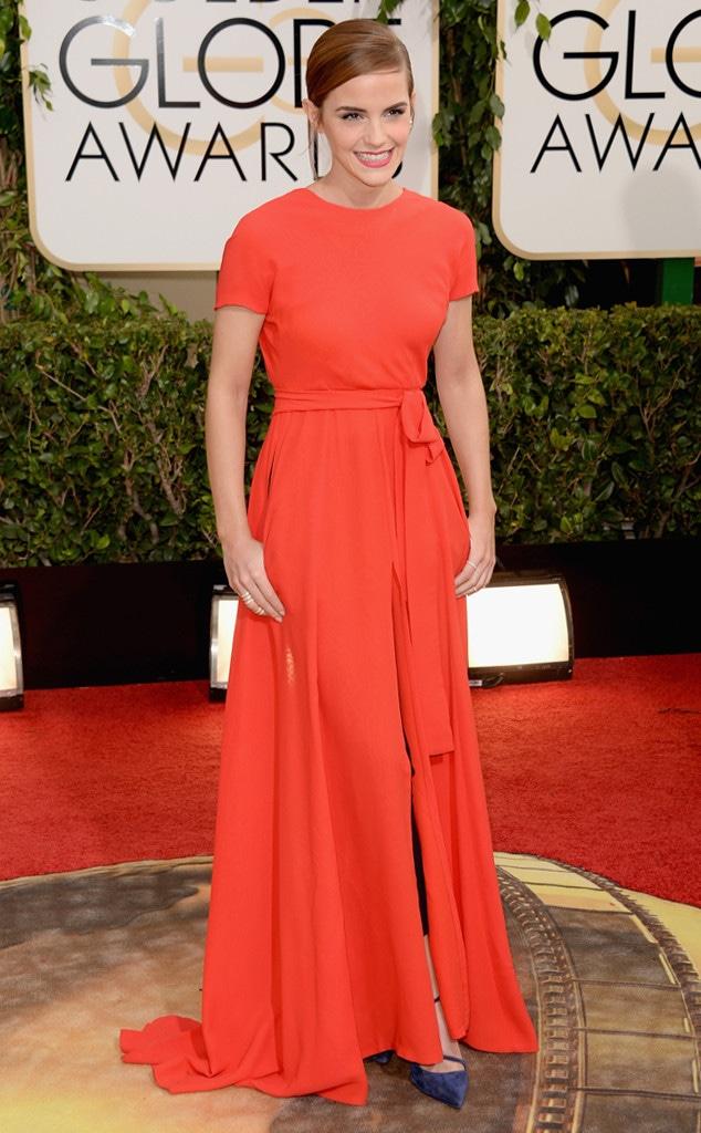 Emma Watson, Golden Globes, 2014
