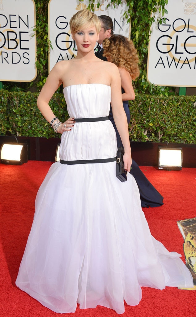 Jennifer Lawrence, Golden Globes 2014
