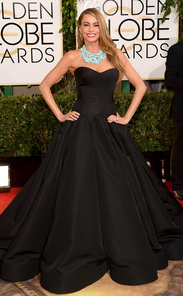 Sofia Vergara, Golden Globes, 2014