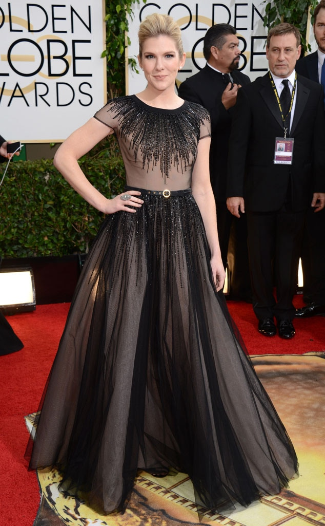 Lily Rabe, Golden Globes 2014